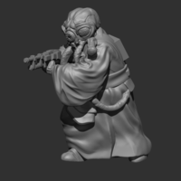 Small Pathfinder Hunter 3D Printing 227726