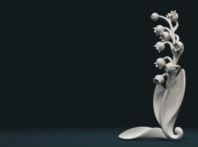 Lily of the valley 3D Print 227772