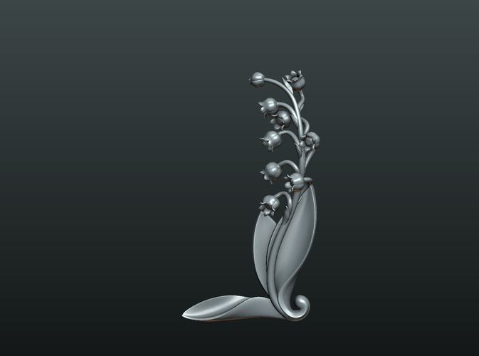 Lily of the valley 3D Print 227773