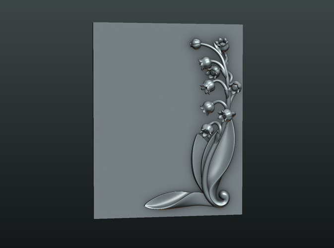 Lily of the valley 3D Print 227783