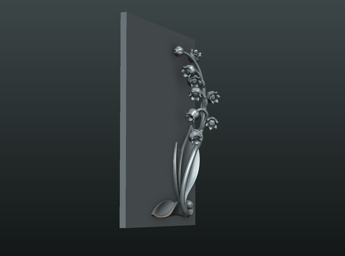 Lily of the valley 3D Print 227785