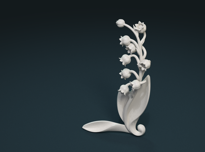 Lily of the valley 3D Print 227790