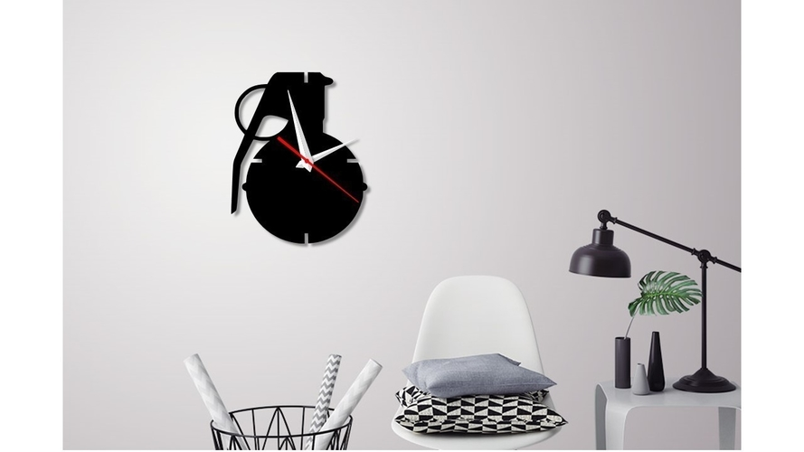 Decorative Wall Clock C2 3D Print 227896