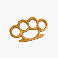 Small Brass knuckles 3D Printing 227902