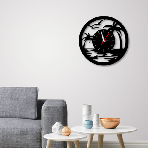 Decorative Wall Clock C3 3D Print 227917