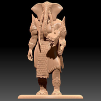 Small Loxodon - Tabletop Miniature 3D Printing 227961
