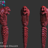 Small The Kandarian Dagger 3D Printing 228012