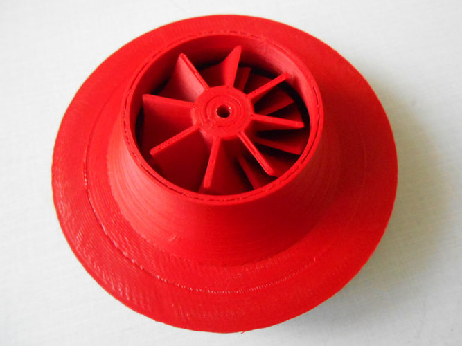 turbocharger with electric motor 3D Print 22806