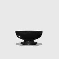Small Dollhouse Miniature Pedestal Bowl 1:48, 1:24, 1:12 and 1:6 Scale 3D Printing 228217