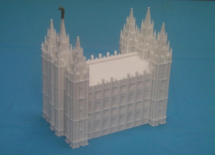 Salt Lake City Mormon Temple 3D Print 228219