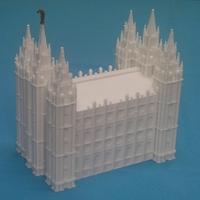 Small Salt Lake City Mormon Temple 3D Printing 228219