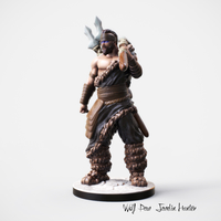 Small Nordic Hunter miniature 3D Printing 228361
