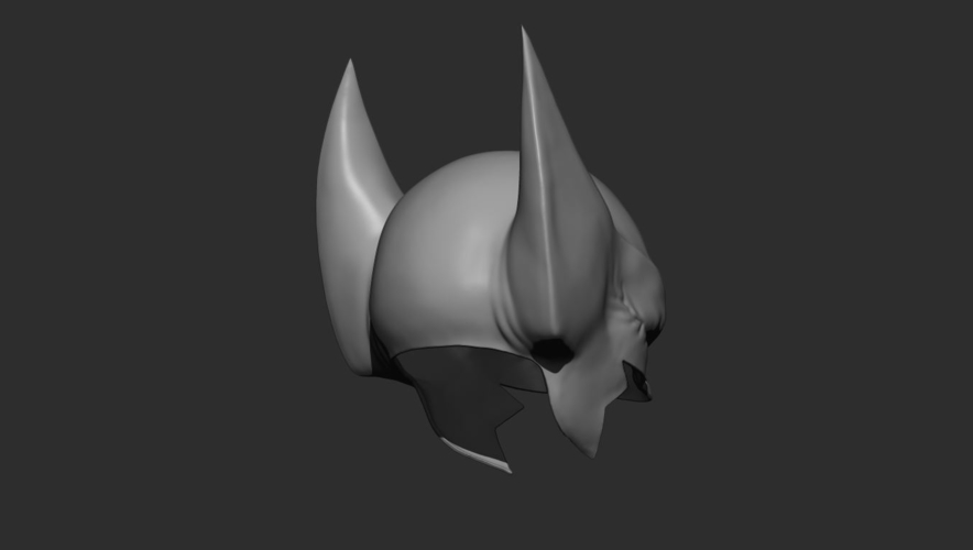 Wolverine Mask - Helmet For Cosplay from Marvel Scale 1:1 3D Print 228391