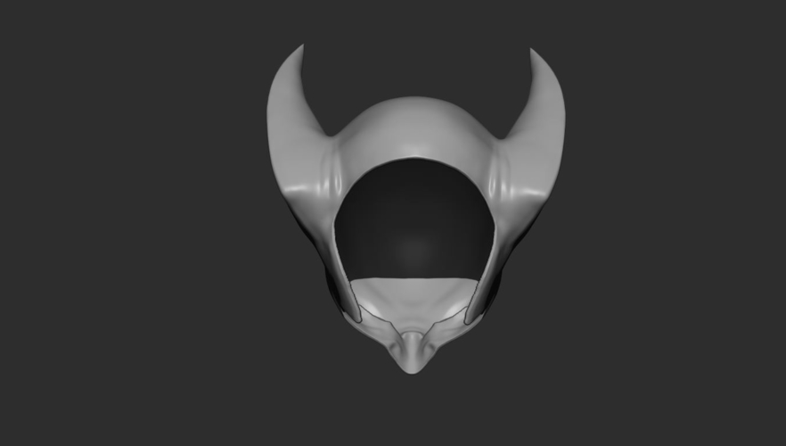 Wolverine Mask - Helmet For Cosplay from Marvel Scale 1:1 3D Print 228392