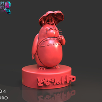 Small Totoro Sculpture 3D Printing 228462