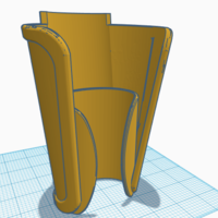 Small Forearm Cover 3D Printing 228463