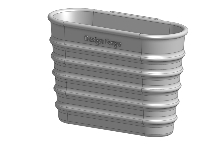 Dish Drainer Cup 3D Print 228466