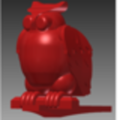 Owl Jewelry CR Box 3D Print 22847