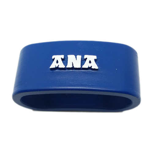 ANA 3D Napkin Ring with lauburu 3D Print 228494