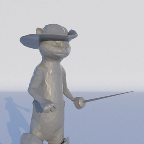 Puss in Boots 3D Print 228520