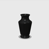 Small Dollhouse Miniature Vase 1:48, 1:24, 1:12 and 1:6 Scale 3D Printing 228551