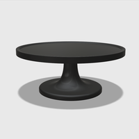 Small Dollhouse Miniature Cake Stand 1:48, 1:24, 1:12 and 1:6 Scale 3D Printing 228552