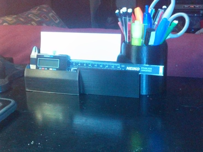 Desk Organizer for Caliper 3D Print 22857