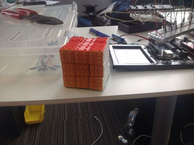 CUBE! Fully Functional... EASY PRINT... 3x3x3 cube 3D Print 22864