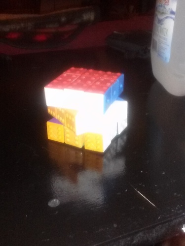 CUBE! Fully Functional... EASY PRINT... 3x3x3 cube 3D Print 22869
