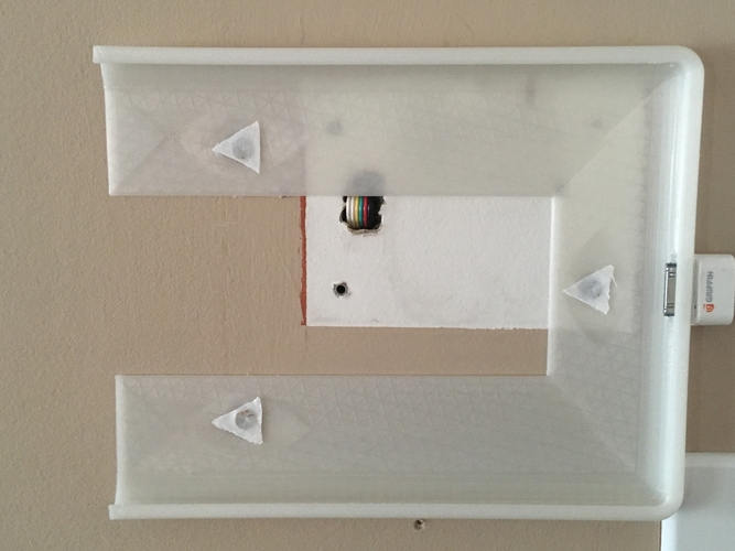 Basic iPad gen 2 wall mount 3D Print 228846