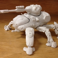 Small Destiny - Fallen Walker Tank 3D Printing 228888