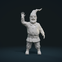 Small Garden Gnome II 3D Printing 228915
