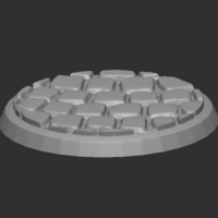 Small Bases / Platforms for miniatures 3D Printing 228951