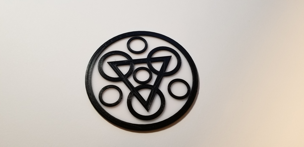 "Coheed and Cambria ""Keywork"" Coaster Set 3D Print 228994"