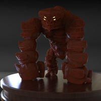Small Golem Sculpture 3D Printing 229013