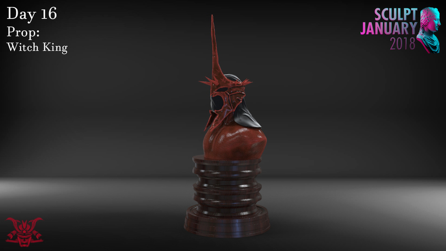 The Witch King Helmet 3D Print 229245