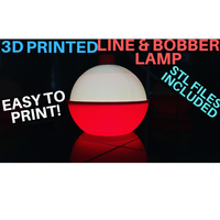 Small LINE AND BOBBER LAMP 3D Printing 229304