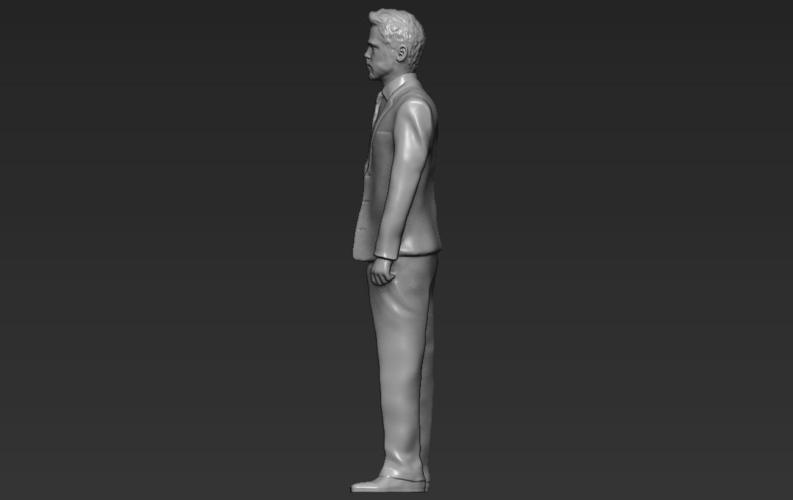 Brad Pitt figurine ready for full color 3D printing 3D Print 229372