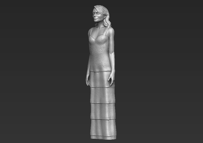 Emma Stone figurine ready for full color 3D printing 3D Print 229387