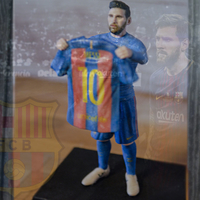 Small Lionel Messi ready for full color 3D printing 3D Printing 229391
