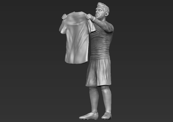 Lionel Messi figurine ready for 3D printing 3D Print 229408