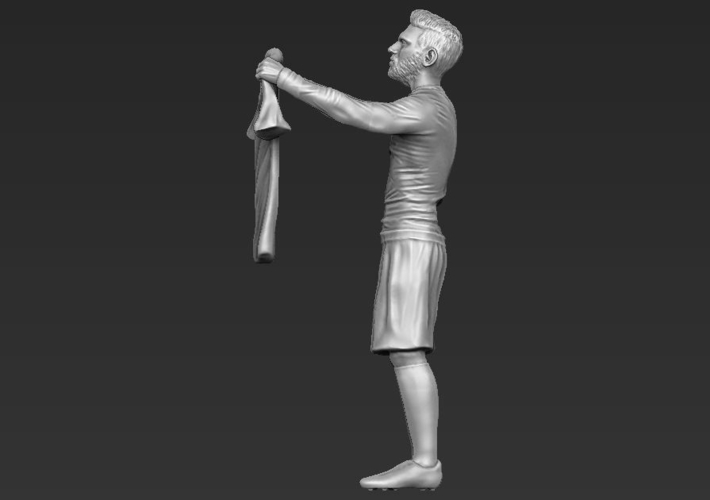 Lionel Messi figurine ready for 3D printing 3D Print 229409