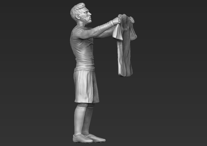 Lionel Messi figurine ready for 3D printing 3D Print 229411