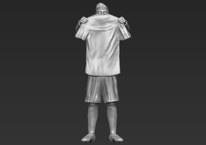 Lionel Messi figurine ready for 3D printing 3D Print 229414