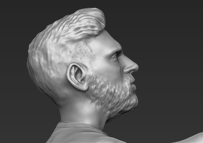 Lionel Messi figurine ready for 3D printing 3D Print 229416