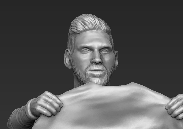 Lionel Messi figurine ready for 3D printing 3D Print 229417