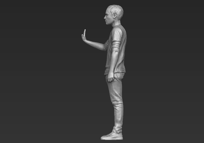 Sheldon Big Bang Theory 3D printing ready stl obj 3D Print 229424