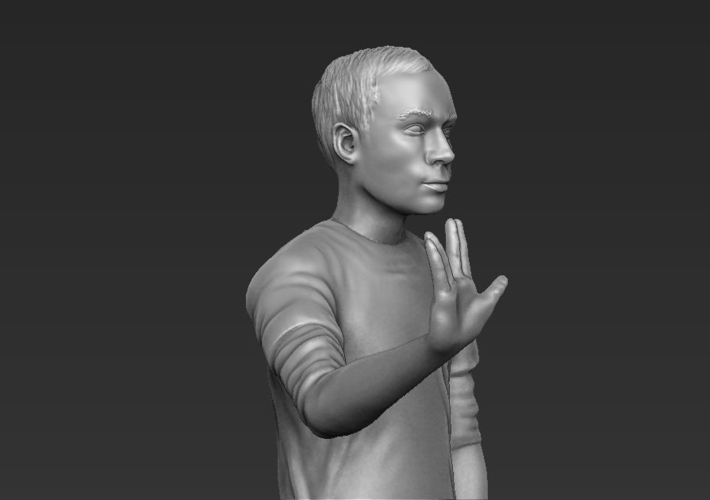 Sheldon Big Bang Theory 3D printing ready stl obj 3D Print 229430