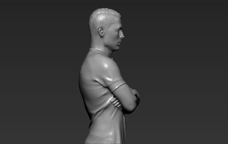 Cristiano Ronaldo Portugal ready for full color 3D printing 3D Print 229469