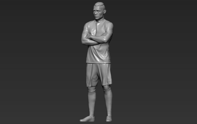 Cristiano Ronaldo Portugal ready for full color 3D printing 3D Print 229472